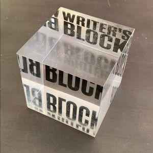 ✨3 for $20✨ Writes Block Acrylic Block